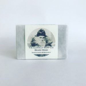 Clovelly Soap Co. Beard wash Sandalwood & Bergamot