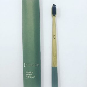 Green Medium Bamboo Toothbrush
