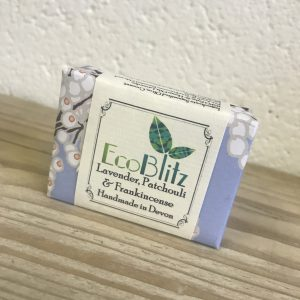 EcoBlitz Soap Bar Lavender, Patchouli & Frankincense