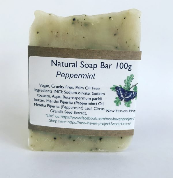 New Haven Peppermint Soap Bar