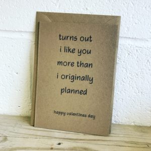 Recycled Valentines Day Card
